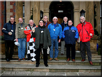Don Barrow - A few members of Ecurie Cod Fillet ECF officiating on the 2006 Tour of Cheshire Historic Rally